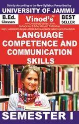 Jammu B.Ed. 1st Sem (e) Language Competence And Communication Skills (e) Vinod Publications