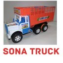 Plastic Sona Truck Toy