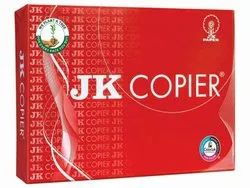 White A4 Size JK Copier Paper, Packaging Size: 250 Sheets per pack, Packaging Type: Box