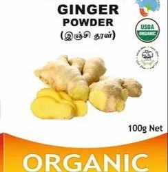 Organic Ginger Powder, 3, Packaging Size: 100g