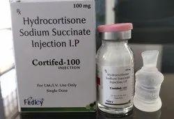 Hydrocortisone Sodium Succinate 100mg Injection I.P