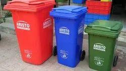 ABS Plastic Garbage Trolley
