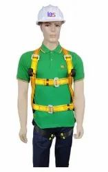Yellow And Black Fall Arrest Full Body Safety Harness Belt, For Industrial, Model: Fall Arrrest,Ladder Climbing