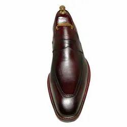 Red Men Designer Leather Shoes