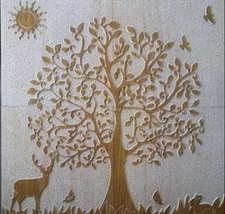 2D Stone Murals