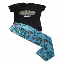 casual wear Cotton Ladies branded night suit, pyajma set, Age Group: 10 And Above