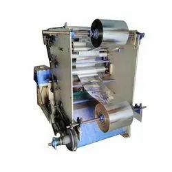 Paper Plate Raw Material Lamination Machine
