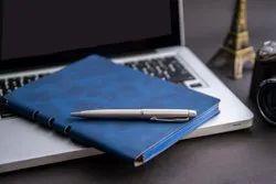 Flexible PU Notebook With Pen