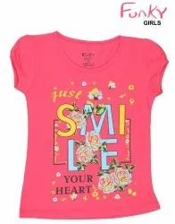 Funky Hosiery Girls Tops, Size: 6 To 15 Years