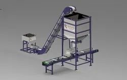 Tray Filing Machine With Feeder Elevator