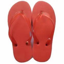 Strap Red Fancy Hawaii Slipper, 14 Mm, Size: 6-10