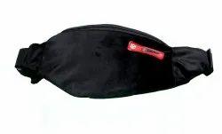 Leather Waist Pouch/Travel Bag Vegan Waist Bag (Grey)