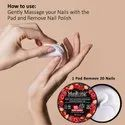 Masking - Nail Polish Remover Wipes / Pads - Berries