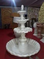 White Wedding Decorative Grc Fountains