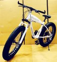 Mercedes Benz Shark White Fat Tyre Cycle