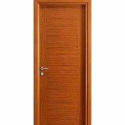 Hardy Brown Gurjan Flush Door, For Indoor, Thickness: 30 Mm