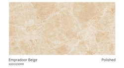 Ceramic Empradoor Beige Polished Vitrified Tiles, Thickness: 15 mm, Size: 600X1200 mm