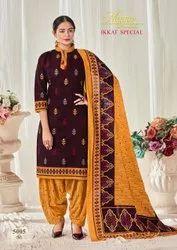shivkrupa enterprise 10 colour Mayur Creation Ikkat Special Vol 5 Pure Cotton Dress Materials