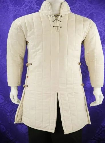 Beautiful Thick Gambeson SCA Larp In Standard Sizes Full Sleeves Gambeson Best Gift