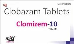 Clobazam Tablets 10 mg