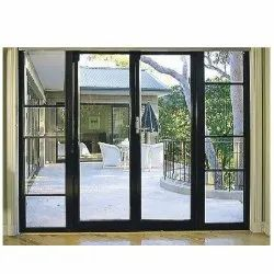 Brown Wooden UPVC Windows, Glass Thickness: 5-8 Mm