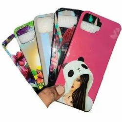 Plastic Printed Girls Mobile Back Cover