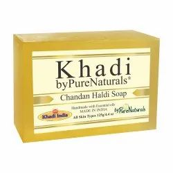 Bypurenaturals Khadi Chandan Haldi Soap- 125 Gm