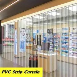 Anti Insect Amber PVC Strip Curtain