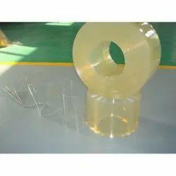 Transparent Plain PVC Strip Curtain