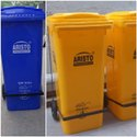60L Dustbin With Flat Lid