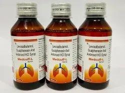 Levosalbutamol Ambroxol Guaiphenesin Syrup