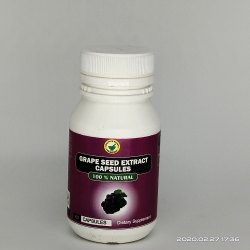 TVS Biotech Grapeseed Extract Capsule, 60 Capsules, Non prescription