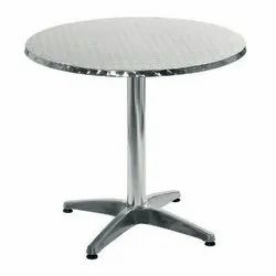 Powder Coated Stainless Steel Round Table