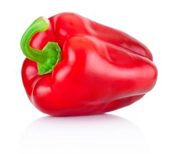 A Grade Fresh Red Capsicum, For Cooking, Packaging Size: 20 Kg