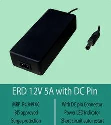 Black Electric ERD 12V 5A With DC Pin