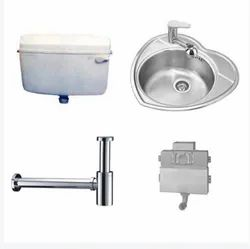 Stainless Steel PVC Sanitary Parts, For Home