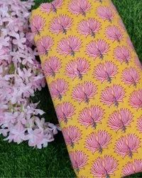 Printed Cotton Running Fabric, For Garments