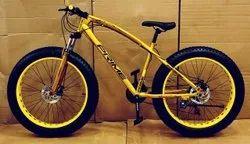 Prime Jaguar Golden Fat Tyre Cycle