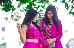 Pink Wedding Wear Hand Work Designs Lehenga