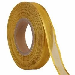 Organza Satin - Gold Ribbons25mm /1''inch 20mtr Length