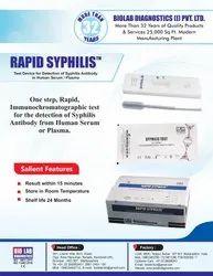 Syphilis Test Card