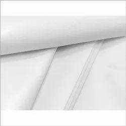 Plain White Raymond Cotton Fabric