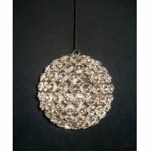 Iron-glass Bead Christmas Hanging Ball