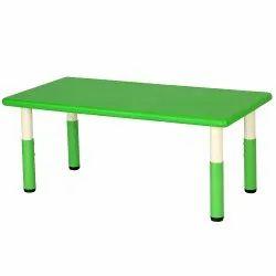 Rectangle Plastic Table