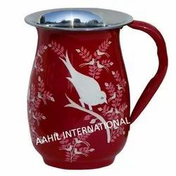 Real Hand Painted Enamel Pitcher Online in India