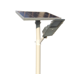 9W Lens Model Semi Integrated Solar Street Light