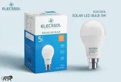 5W Aluminum Solar LED Bulb
