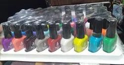 Colored Nail Polish, For Personal and Parlour, Packaging Size: 15 Ml
