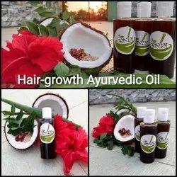 Natural Abhyang Hibiscus Hair Growth Ayurvedic Oil