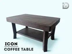 Diya Brown Plastic Table ( Coffee Table )